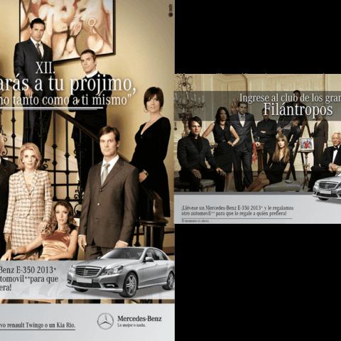 Mercedes Benz- Media Consulting Group - Agencia de Medios en Colombia