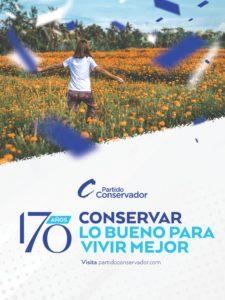 Partido Conservador 170 años 2