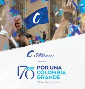 Partido Conservador 170 años