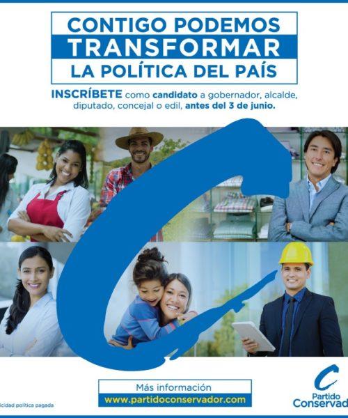 Partido Conservador - Media Consulting Group - Agencia de Medios en Colombia